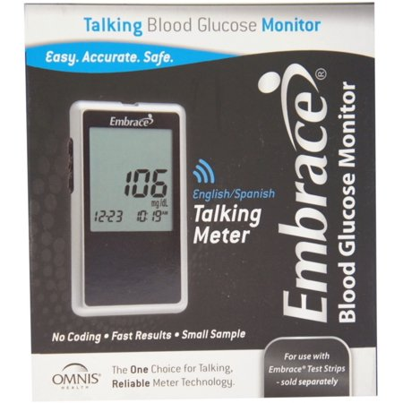 talking blood glucose monitor