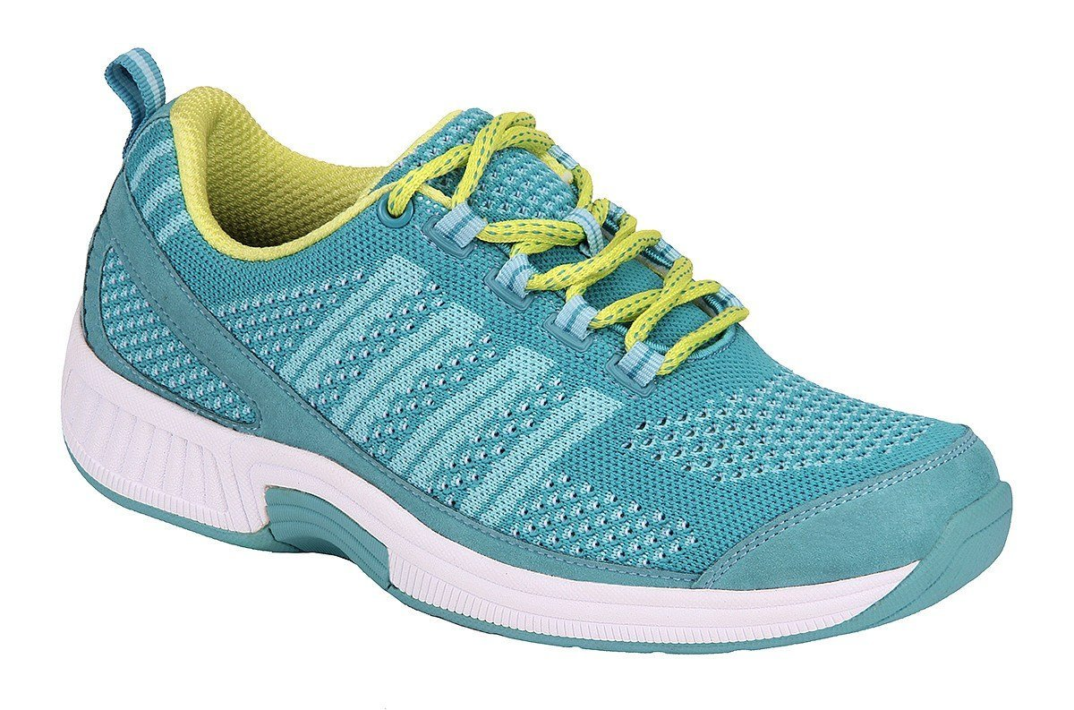 footwear coral turquoise